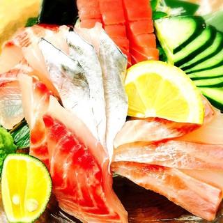 毎日新鮮なお魚を仕入れております!!
