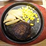 67129086 - ランチ:九州産黒毛和牛のハンバーグ定食