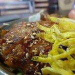 お好み焼きマツモト - セットのミニ豚しょうが丼をUPで!