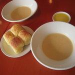 セッテマーレ - 自家製パンと冬野菜のスープ