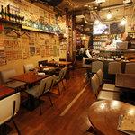エス グロッソ - 渋谷っぽさを忘れる落ち着いた大人の店内!カフェ感覚でもOK