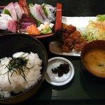 歌楽久利亭 - 横田定食 1210円