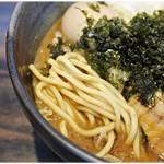 並木商事 - ガチムチな麺。これがまた美味い♪