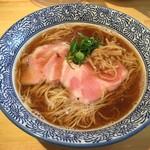 らぁ麺屋 はりねずみ - 醤油らぁ麺<細麺>(750円)