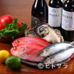 スペイン海鮮料理 ラ マーサ - 共通点は豊富な魚介、こだわりの地元魚介を使用し創業19年目