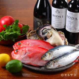 共通点は豊富な魚介、こだわりの地元魚介を使用し創業19年目