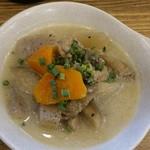 串だおれ - 煮込み 特製 鶏塩白湯煮込み320円(税抜)