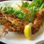 ファミリーレストラン ニューあぶくま - 海老のインパクト