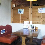 ファミリーレストラン ニューあぶくま - 一般座席