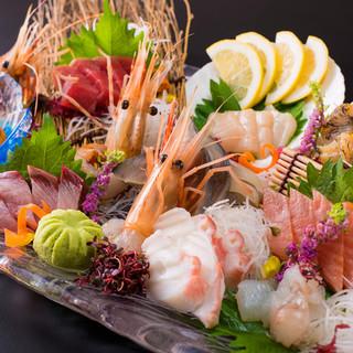 【北海道産の魚介料理】も豊富にご用意!