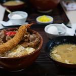 かつ亭 - チキンカツ丼、生姜焼き、エビフライ