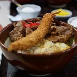 かつ亭 - 三色丼