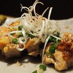 67137795 - 京赤地鶏ほんのり柚子胡椒¥890