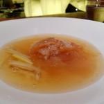 67138284 - フカヒレ尾の上湯とろみスープ