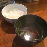 67138565 - ライスとスープ