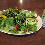からだと心にやさしいレストラン ナチュラルグレース - パエリアについてたサラダ