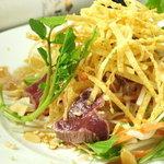 ヌーベルシノワ一品香 - ダチョウ肉とアーモンドのサラダ仕立て グランプリ受賞作品