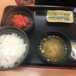 吉野家 - 明太子定食