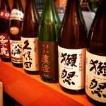 和洋だいにんぐ酒らふ - 日本酒