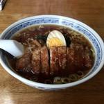 一麟 - 醤油排骨麺 700円