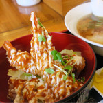 鷺原 - マヨエビフライ丼