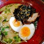分田上 - 高菜は辛味のないもの。