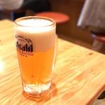 飲食笑商何屋ねこ膳 - 生ビール