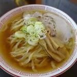 中華そば 琴の - 中華そば(平日限定太麺)こってり700円