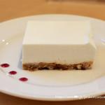 水谷珈琲 - レモンレアチーズケーキ