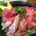 67149701 - ぜいたく鮪丼大盛(1,130円)