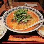 炎屋 - 坦々麺セット(850円)