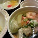 東武菜苑 - ランチ:じゃこチャーハン&海鮮タンメン