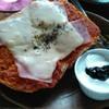 カフェ リーフス - 料理写真:自家製パンピザトースト