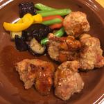 サイゼリヤ - 鶏肉のオーブン焼きバルサミコ甘酢ソース☆★★☆