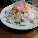 力餅 - ばら寿司