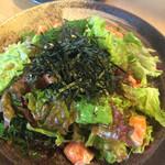 さかな食堂 - 海鮮サラダ