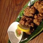 taverna ichi - 鶏唐揚 アンチョビマヨ