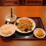 67156992 - 野菜と玉子炒め定食