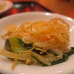 67156996 - もやしと青菜の中華和えアップ