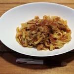 洋食と洋酒 ao-ya - 牛スジのラグーソースの平打ちパスタ