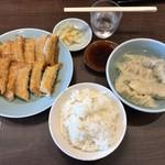 宇都宮みんみん - 料理写真:セットで790円
