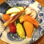 67158243 - 夏野菜の和風ピクルス