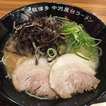 元祖博多中州屋台ラーメン 一竜 - 201705