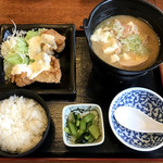 和食れすとらん天狗 - 肉豆腐とチキン南蛮セット ¥599(税別)