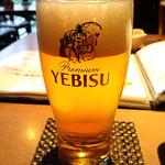 味浪漫いしがま亭 - 生ビール