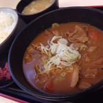 67160375 - もつ煮定食 ¥750