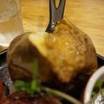 つばめグリル - [料理] 付け合わせ ジャーマンポテト アップ♪w