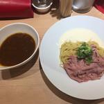 麺屋 大つけ麺博 - つけ麺フロマージュ(牛サーロイン添え)