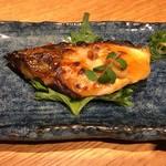 風林火山 - ブリの柚子味噌焼