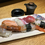 風林火山 - 旬鮮にぎり寿司6貫盛り合わせ